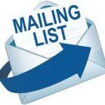 maiiling list envelope