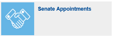 legistlative 2020 - Senate Appointments