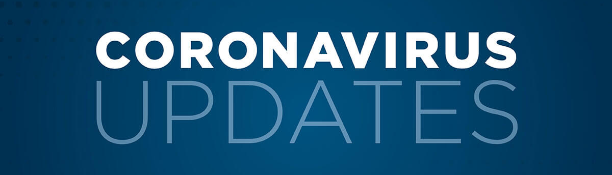 Covid 19 updates banner