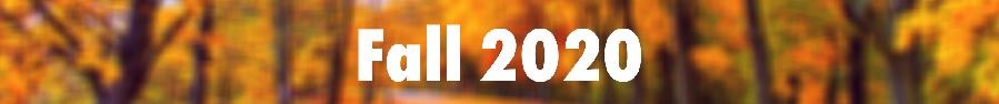 fall 2020